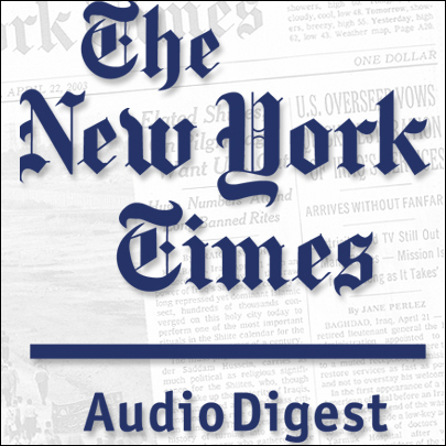 The New York Times Audio Digest (English), May 04, 2010, Hörbuch, Digital, 1, 53min