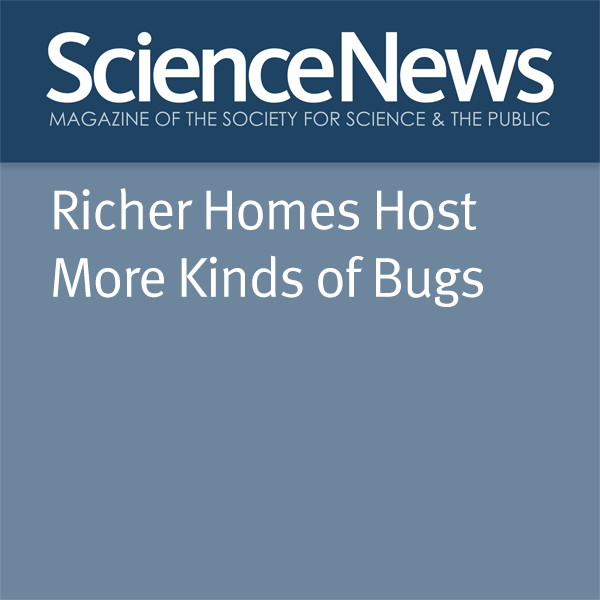 Richer Homes Host More Kinds of Bugs , Hörbuch,...
