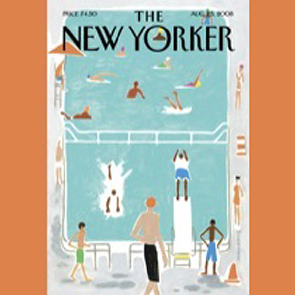The New Yorker, August 25th, 2008 (Anthony Lane...