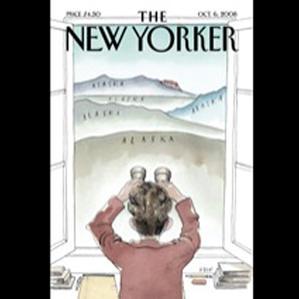 The New Yorker, October 6th, 2008 (Raffi Khatch...