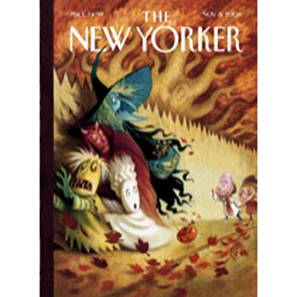 The New Yorker, November 3rd, 2008 (Margaret Ta...