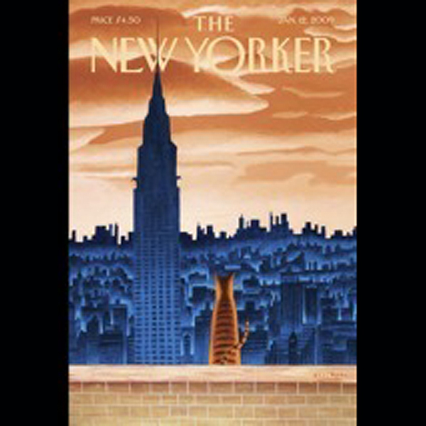 The New Yorker, January 12th, 2009 (Peter Hessl...