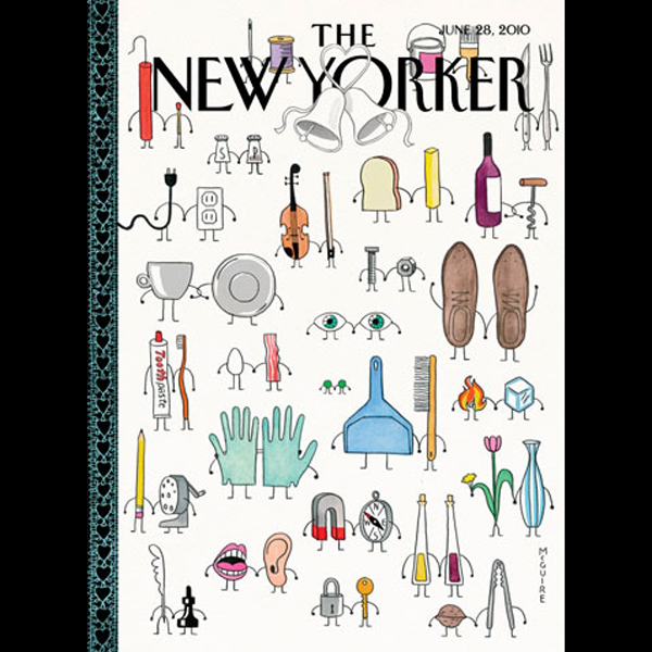 The New Yorker, June 28th, 2010 (Calvin Tomkins...