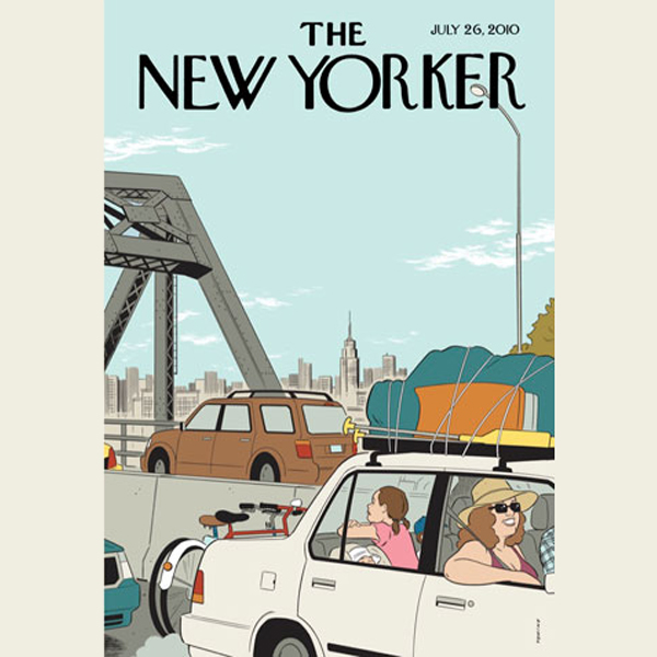 The New Yorker, July 26th 2010 (Jonathan Franze...