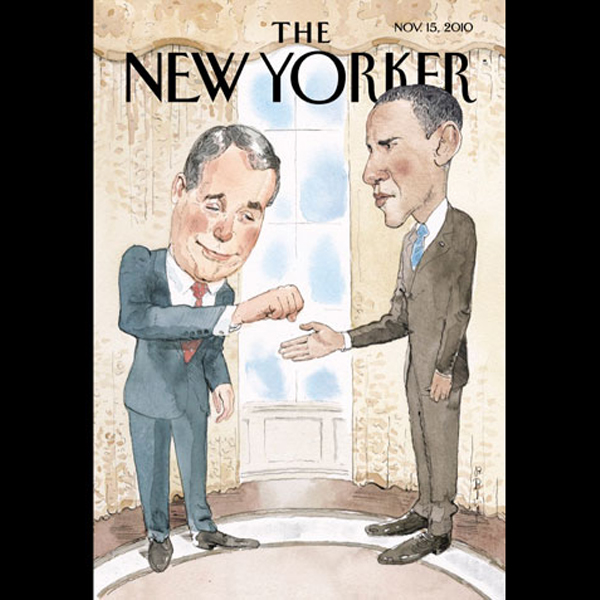 The New Yorker, November 15th 2010 (Michael Spe...