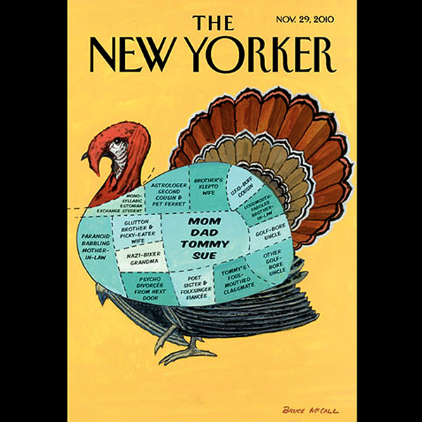 The New Yorker, November 29th 2010 (Lauren Coll...