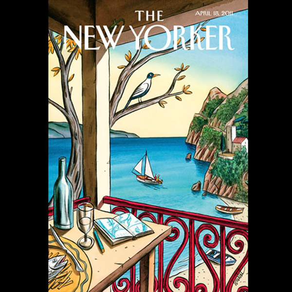 The New Yorker, April 18th 2011 (Lizzie Widdico...