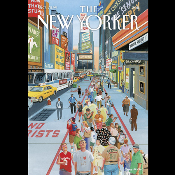 The New Yorker, October 3rd 2011 (John Colapint...