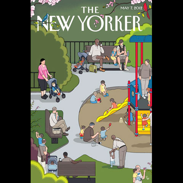 The New Yorker, May 7th 2012 (David Kushner, Ar...