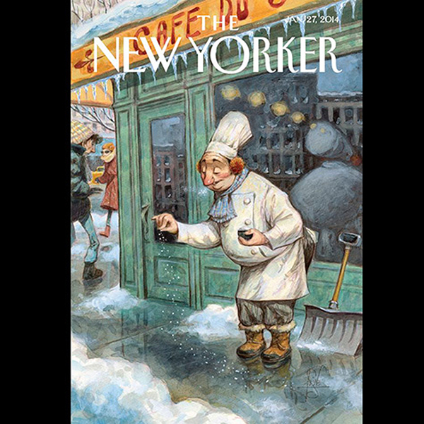 The New Yorker, January 27th 2014 (David Remnic...