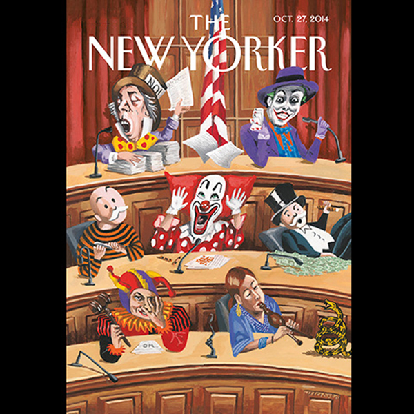 The New Yorker, October 27th 2014 (Richard Pres...