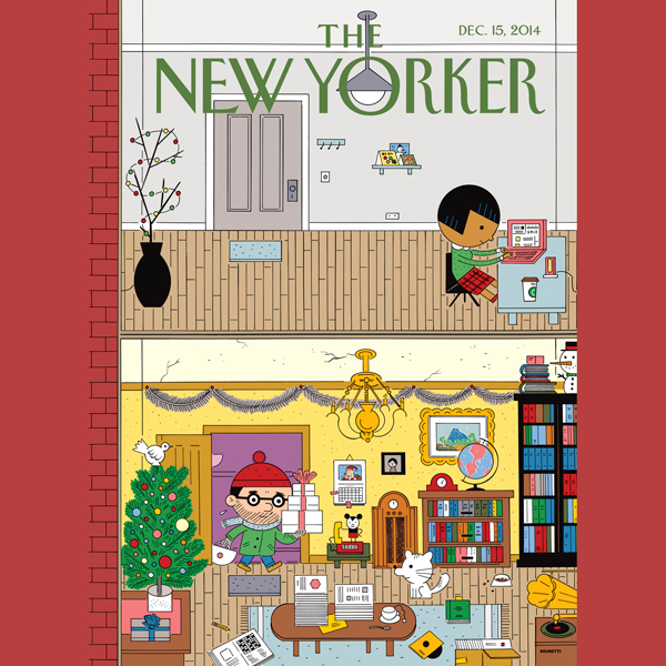The New Yorker, December 15th 2014 (Ken Auletta...