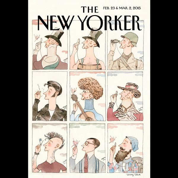 The New Yorker, February 23rd & March 2nd 2015:...