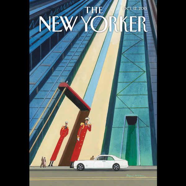 The New Yorker, October 12th 2015 (Margaret Tal...