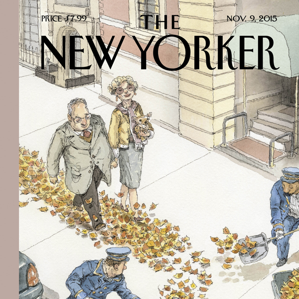 The New Yorker, November 9th 2015 (Nick Paumgar...