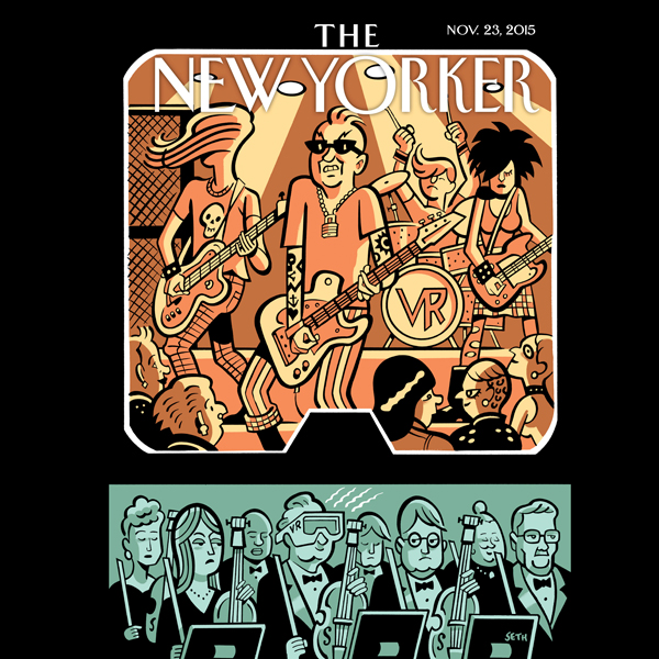 The New Yorker, November 23rd 2015 (Adrian Chen...