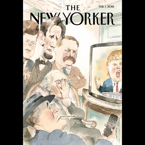 The New Yorker, February 1st 2016 (Ryan Lizza, ...