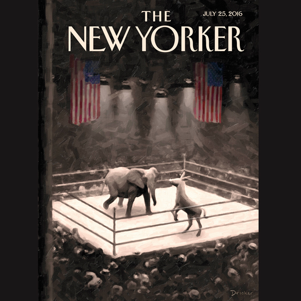 The New Yorker, July 25th 2016 (Jane Mayer, Rac...