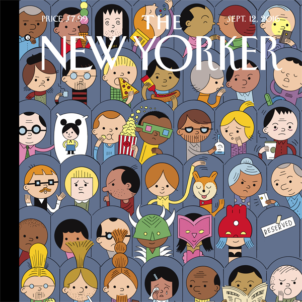 The New Yorker, September 12th 2016 (Ariel Levy...