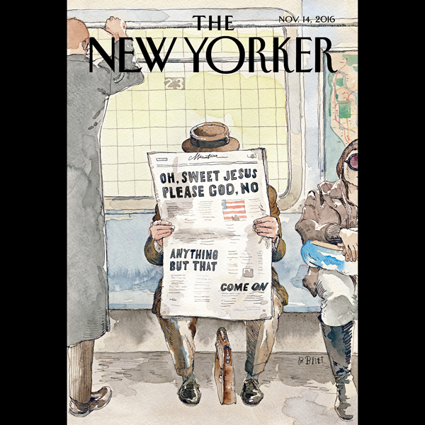 The New Yorker, November 14th 2016 (William Fin...