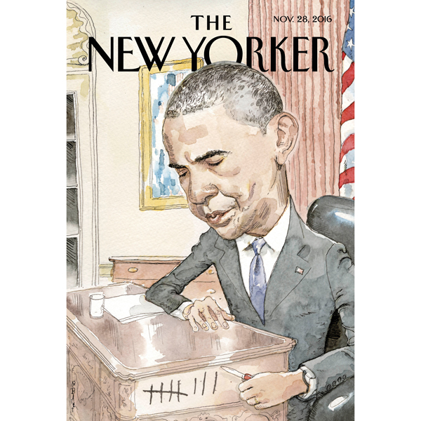 The New Yorker, November 28th 2016 (David Remni...