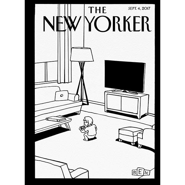 The New Yorker, September 4th 2017 (Emily Nussb...