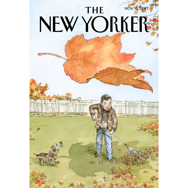 The New Yorker, November 6th 2017 (Luke Mogelso...