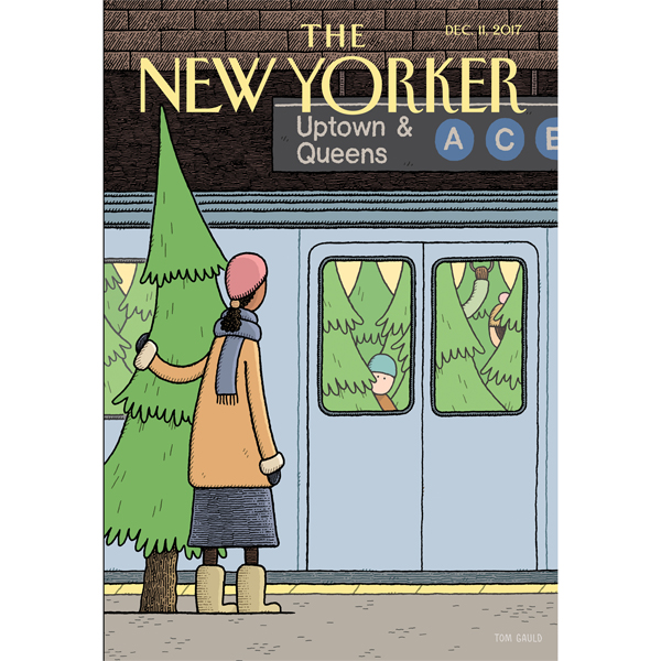 The New Yorker, December 11th 2017 (Jeffrey Too...