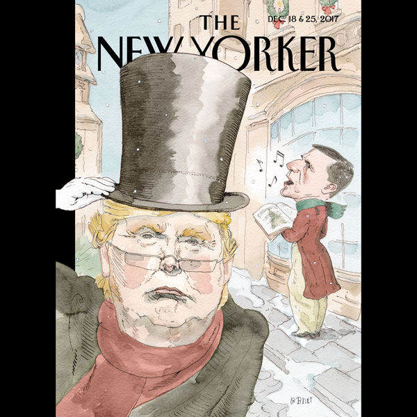 The New Yorker, December 18th and 25th 2017: Pa...