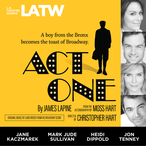 Act One: From the Autobiography by Moss Hart, H...