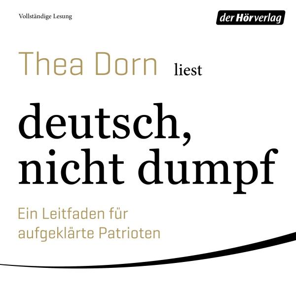 deutsch, nicht dumpf Hörbuch kostenlos downloaden