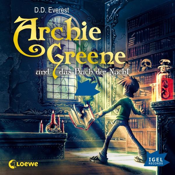 Archie Greene und das Buch der Nacht Hörbuch kostenlos downloaden