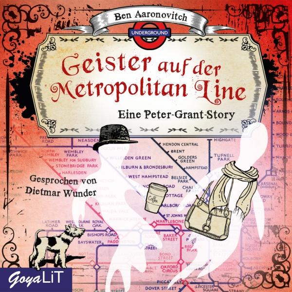 Geister auf der Metropolitan Line Hörbuch kostenlos downloaden